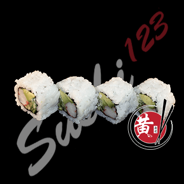 Foto California roll 4 pieces