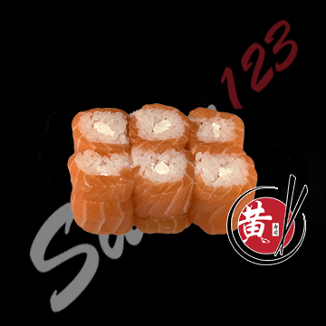 Foto Cheese salmon maki